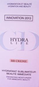 Así es la BB CREAM Hydra Life Dior