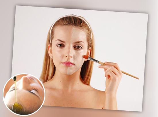 Limpieza facial casera con aceite de oliva