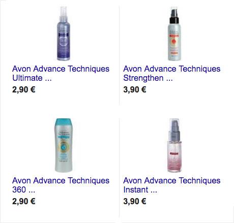 qui puedes ver que productos son los mejores con keratinca, uno de ellos es avon advance techniques