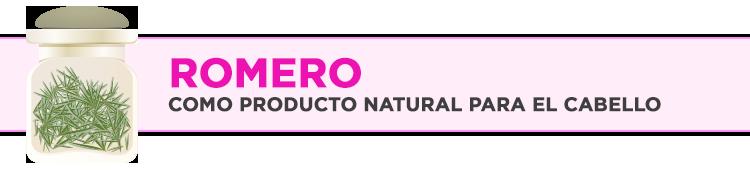 El romero como producto natural para el cabello