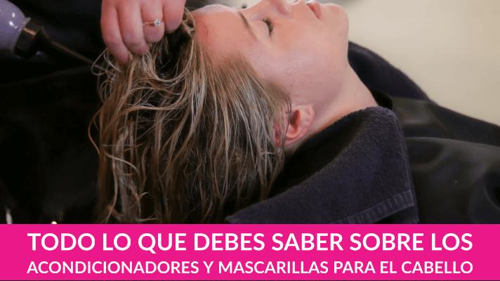 Cómo actúan los acondicionadores y las mascarillas para el cabello